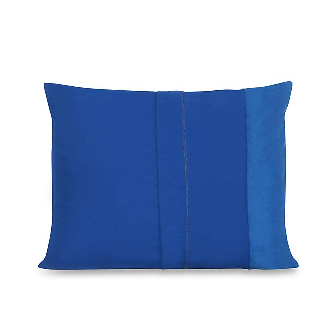 My First Memory Foam Youth Pillow Case In Blue Buybuy Baby