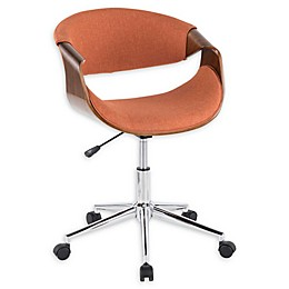 Lumisource® Polyester Swivel Curvo Office Chair