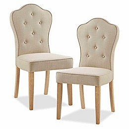 Madison Park Polyester Upholstered Lisa Dining Chairs (Set of 2)