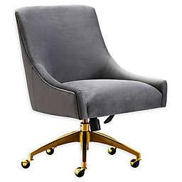 Tov Furniture™ Velvet Swivel Beatrix Office Chair