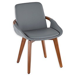 Lumisource® Faux Leather Upholstered Cosmo Chair
