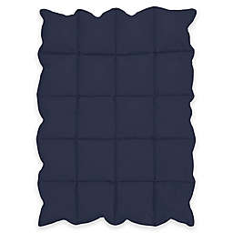 Sweet Jojo Designs Down Alternative Crib Comforter in Navy