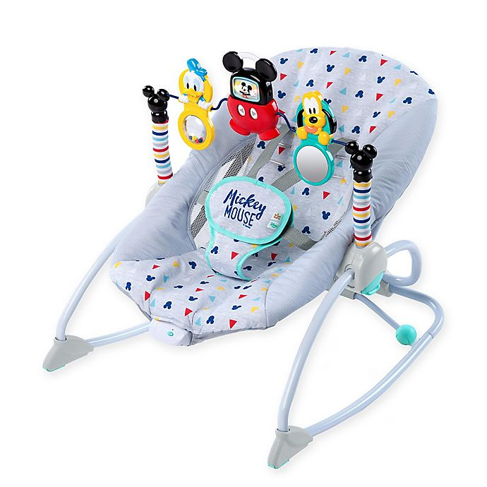 Super Disney Mickey Mouse Infant To Toddler Vibrating Rocker Machost Co Dining Chair Design Ideas Machostcouk