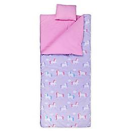 Wildkin Unicorn Original Kids' Sleeping Bag in Purple