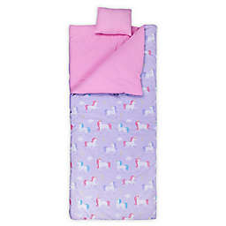 Wildkin Unicorn Original Kids' Sleeping Bag in Purple