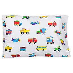 Wildkin Trains, Planes and Trucks Standard Pillowcase