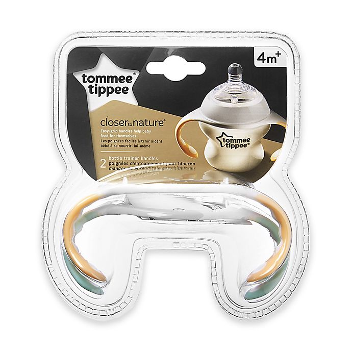 Alternate image 1 for Tommee Tippee 2-Pack Closer to Nature Bottle Handles