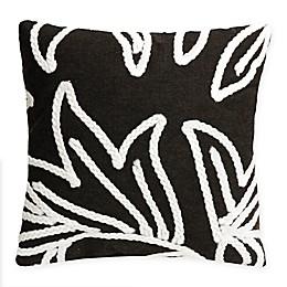 Liora Manne© Crochet Flower Square Indoor/Outdoor Throw Pillow