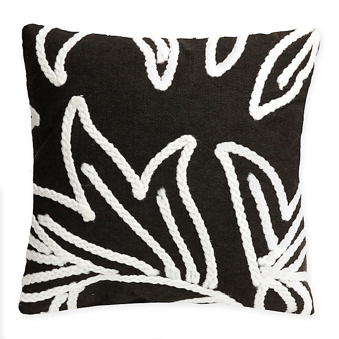 Alternate image 1 for Liora Manne© Crochet Flower Square Indoor/Outdoor Throw Pillow
