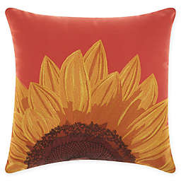 Mina Victory Sunflower Indoor/Outdoor Square Throw Pillow