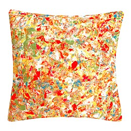Liora Manne Abstract Splatter Square Throw Pillow