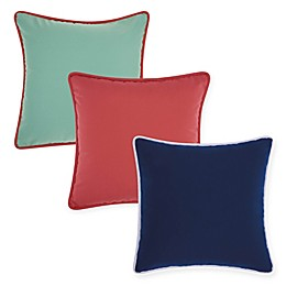 Mina Victory Corded Indoor/Outdoor Square Throw Pillow