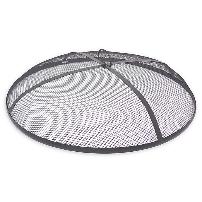 Alternate image 1 for 25-Inch Steel Mesh Fireplace Screen