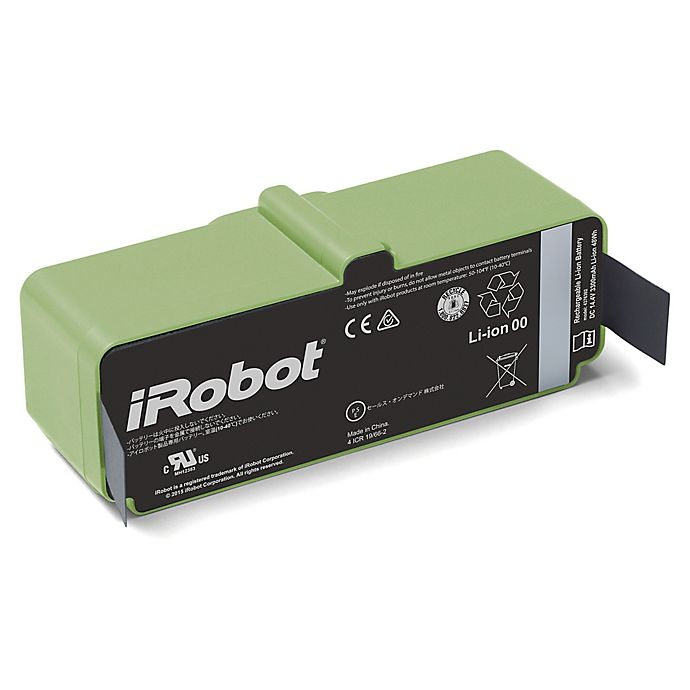 Alternate image 1 for iRobot® Roomba® Replacment 1800 Lithium Ion Battery in Green