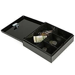 Mind Reader Cash Box in Black