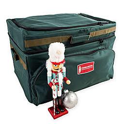 TreeKeeper Deep Pocket Ornament Storage Bag in Green