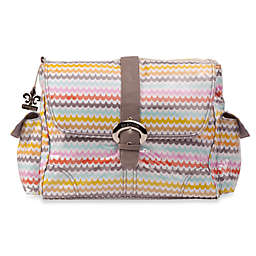 Kalencom Single Buckle Laminated Diaper Bag in Spa