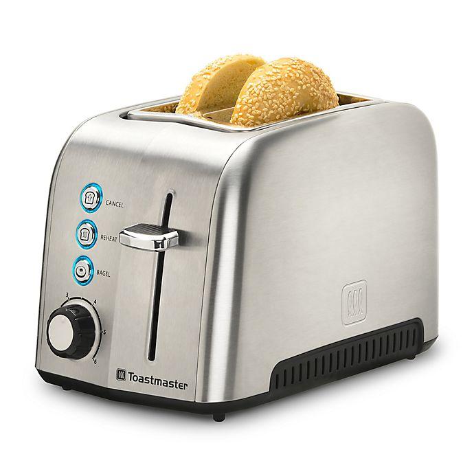 Toastmaster 2-Slice Stainless Steel Toaster | Bed Bath ...