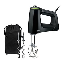 Braun HM5100 Multi-Mix Hand Mixer in Black