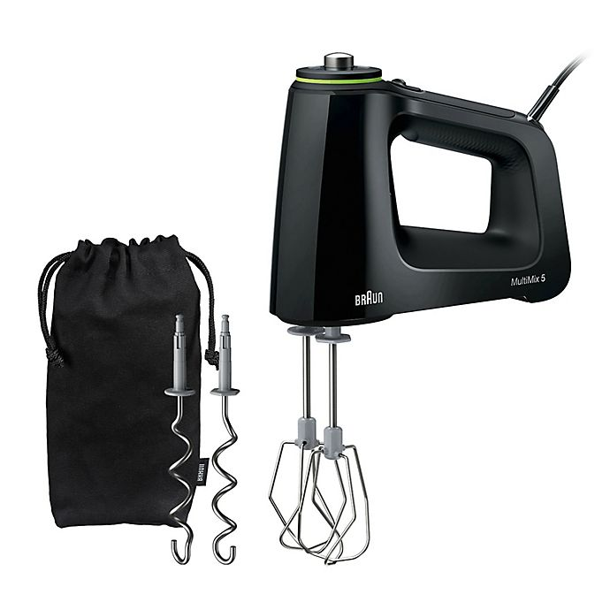 Alternate image 1 for Braun HM5100 Multi-Mix Hand Mixer in Black