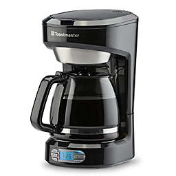 Toastmaster 12-Cup Programmable Coffee Maker in Black