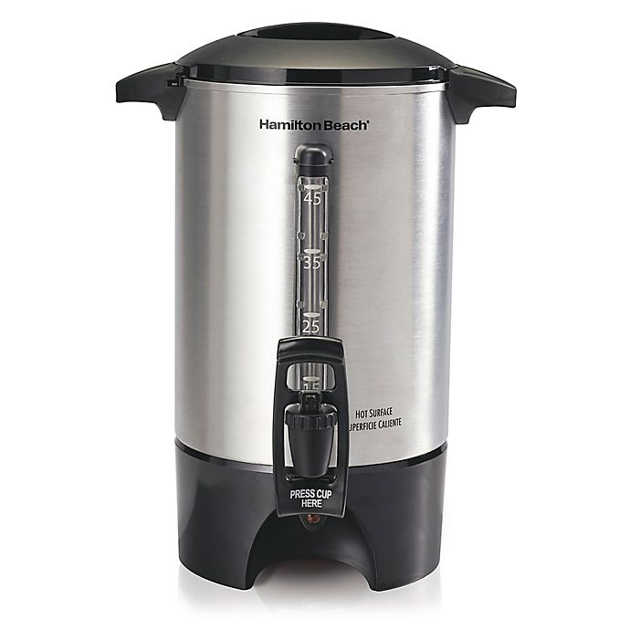 Alternate image 1 for Hamilton Beach® 45-Cup Coffee Urn