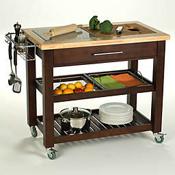 """Chris & Chris Pro Chef 40"""" Kitchen Rolling Work Stations"""