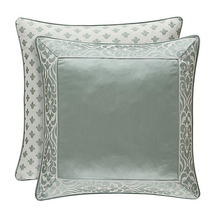 Alternate image 1 for J. Queen New York™ Lombardi European Pillow Sham in Blue