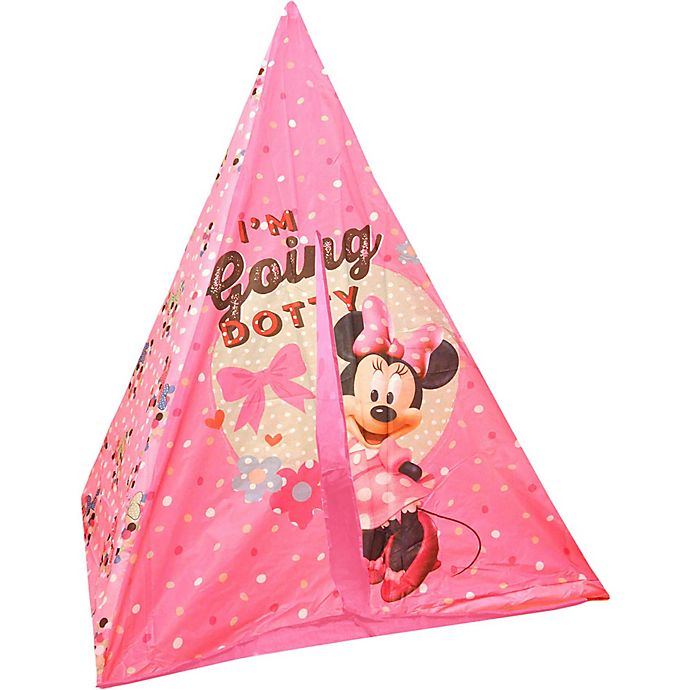quality design dfde6 54ddf Disney® Minnie Mouse Teepee Play Tent and Slumber Bag in ...