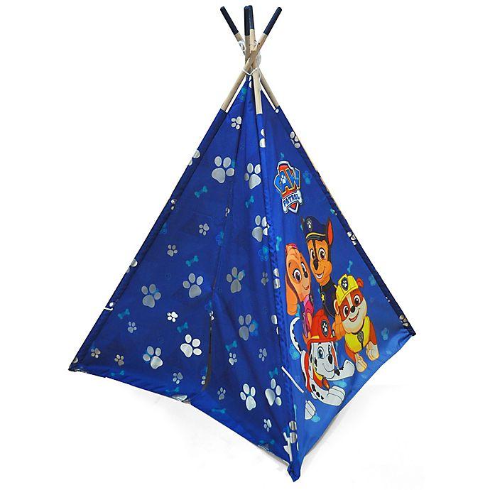Alternate image 1 for Nickelodeon™ Paw Patrol Tee Pee Tent in Blue