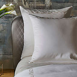 Frette At Home Boho Embroidery European Pillow Sham