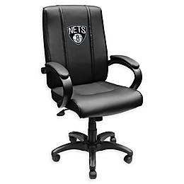 NBA Brooklyn Nets Primary Logo Office Chair 1000