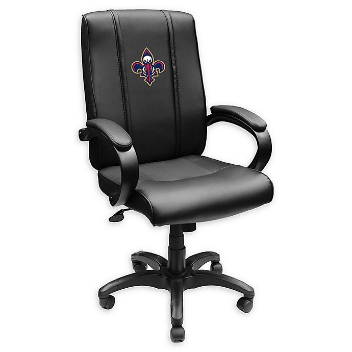 Nba New Orleans Pelicans Alternate Logo Office Chair 1000