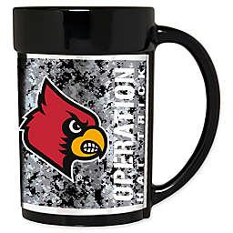 University of Louisville Operation Hat Trick™ 15 oz. Coffee Mug in Black