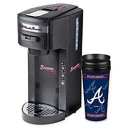 MLB Atlanta Braves Deluxe Coffee Maker