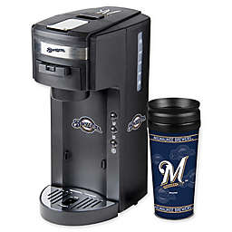 MLB Milwaukee Brewers Deluxe Coffee Maker