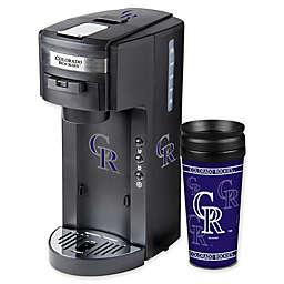 MLB Colorado Rockies Deluxe Coffee Maker