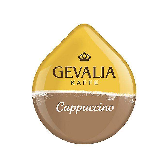Alternate image 1 for Gevalia 16-Count Cappuccino T DISCs for Tassimo™ Beverage System