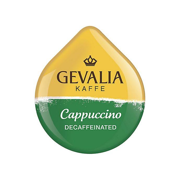 Alternate image 1 for Gevalia 16-Count Decaffeinated Cappuccino T DISCs for Tassimo™ Beverage System