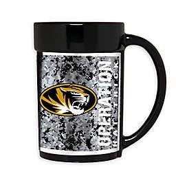 University of Missouri Operation Hat Trick 15 oz. Wraparound Ceramic Mug in Black