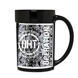 Operation Hat Trick 15 oz. Wraparound Ceramic Mug in Black