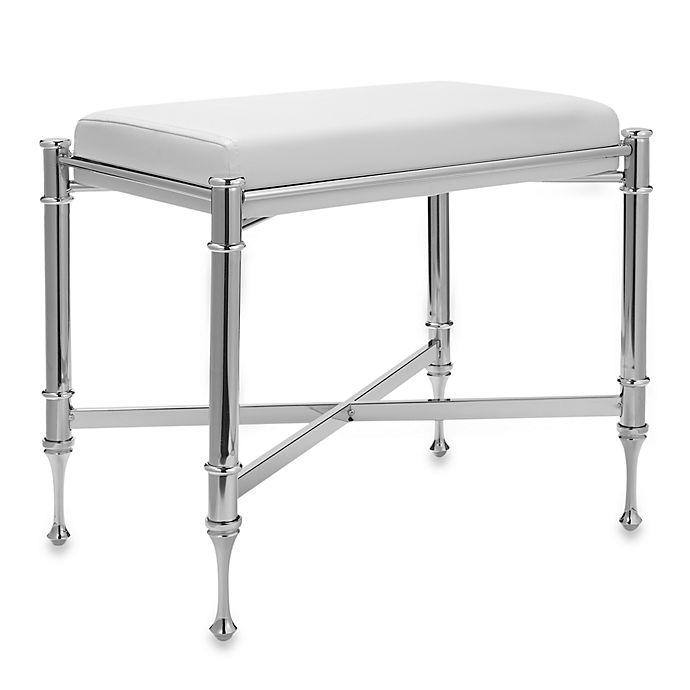 Taymor Chrome Vanity Bench Bed Bath