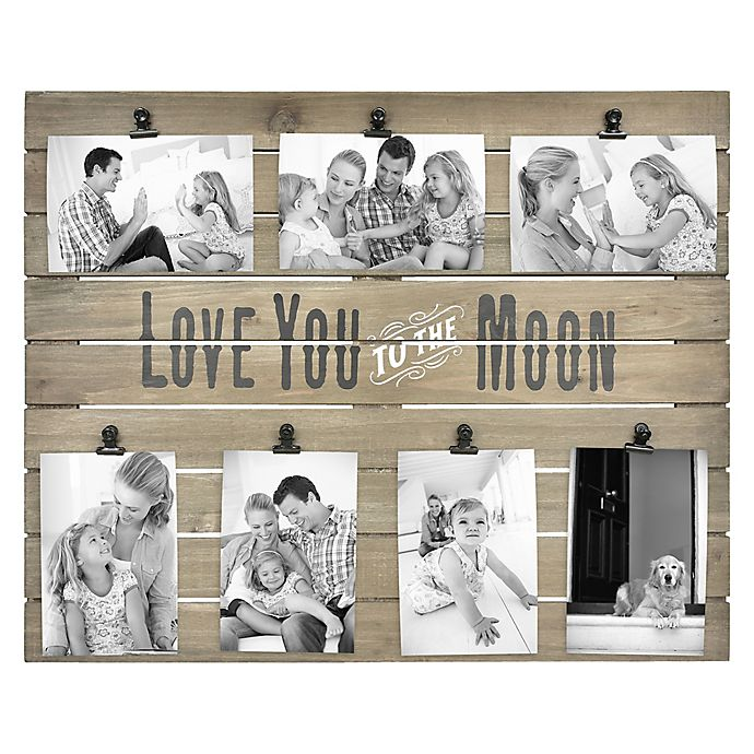7 Opening Love You To The Moon And Back Collage Bed Bath Beyond