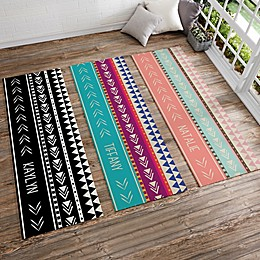 Bohemian Chic Personalized Yoga Mat