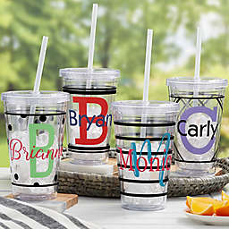 Name Fun Personalized Acrylic Insulated Tumbler