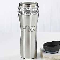 Glitz and Glam Personalized Tumbler with Initials
