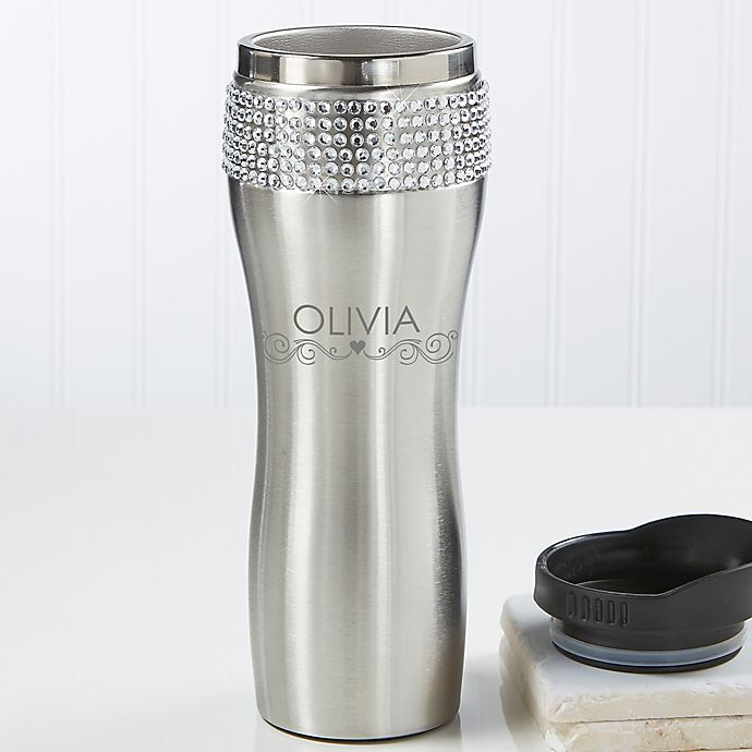 Alternate image 1 for For Her Personalized Stainless Steel Tumbler