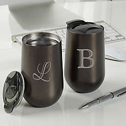 Initial Impressions Personalized Travel Tumbler