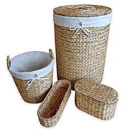 Brookside 4-Piece Hamper & Basket Set