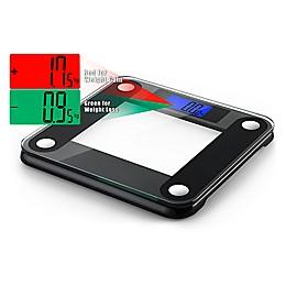 Ozeri® Precision II 440 lb. Bath Scale in Black
